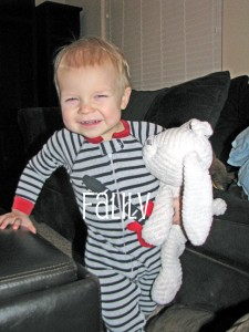 Baby and Lovey, Bunny, Family and Life in Las Vegas