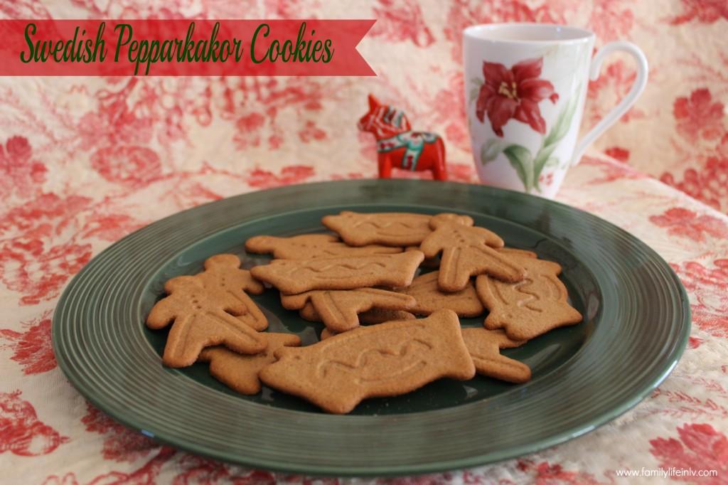 """Christmas Cookies"" ""Swedish Cookies"" ""Ginger snaps"" ""Ginger cookies"" ""Pepparkakor"""