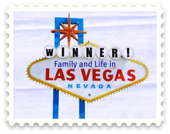 """Winner"" ""Giveaway"" ""Family Life"" ""Vegas Sign"""