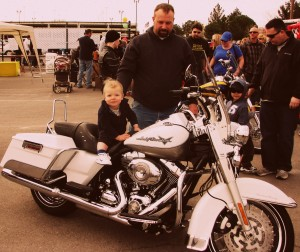 """""""Father & Son"""" """"Family and Life in Las Vegas"""" """"Harley Davidson"""""""