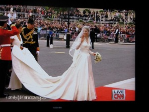 """Royal Wedding"" ""William & Kate"" ""Wedding Dress"""