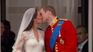 """""""Kate Middleton"""" """"Royal Wedding Kiss"""" """"Prince William"""" """"The Royal Wedding"""""""