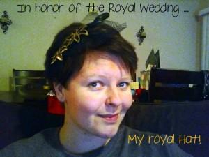 """Royal Wedding"" ""William & Kate"" ""Hat"""