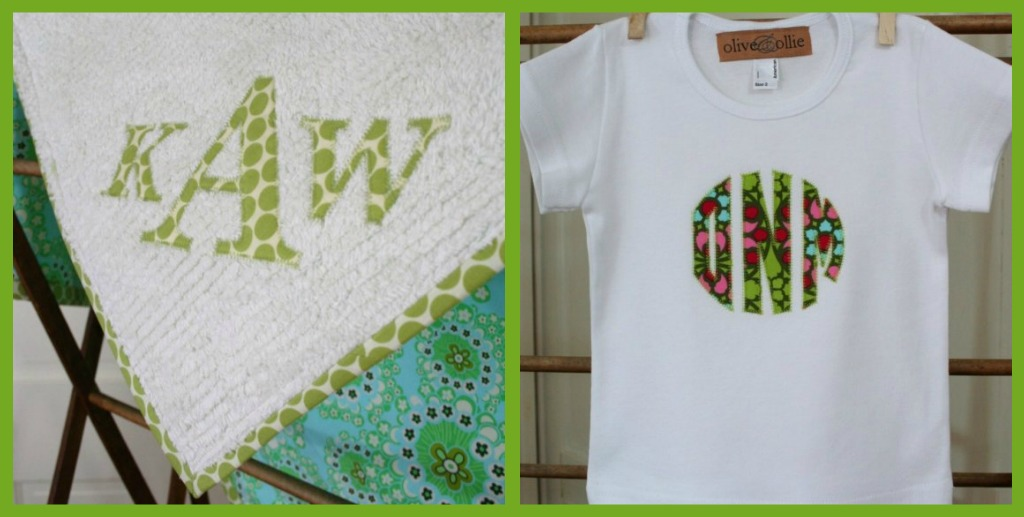 """""""Handmade"""" """"Applique"""" """"Etsy"""" """"Olive and Ollie"""""""