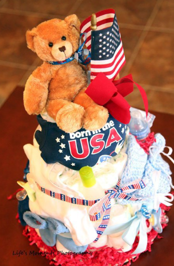 """""""Diaper Cake"""" """"Military"""" """"Operation Showers of Appreciation"""" """"Baby Shower"""""""