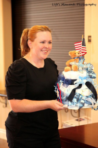 """""""Southern Nevada Military Families"""" """"Baby Shower"""" """"Military Families"""" """"Diaper Cake"""""""