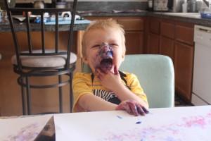 """""""Artist Smock"""" """"LaDy LaDuke"""" """"Toddler Paint"""""""