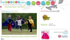 """KidSteals.com"" ""Deal Site"" ""Kids Deals"" ""Daily Deal Site"""