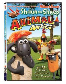 """Clay-mation DVD"" ""Shaun the Sheep DVD"""