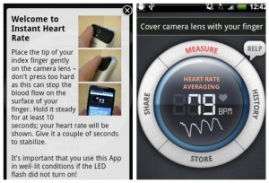 """""""Top Health and Fitness Apps"""" """"Heart Rate Monitor for Phone"""""""