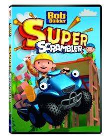 """""""Kids DVD"""" """"Bob the Builder - Super Scrambler"""" """"Construction vehicles DVD"""""""