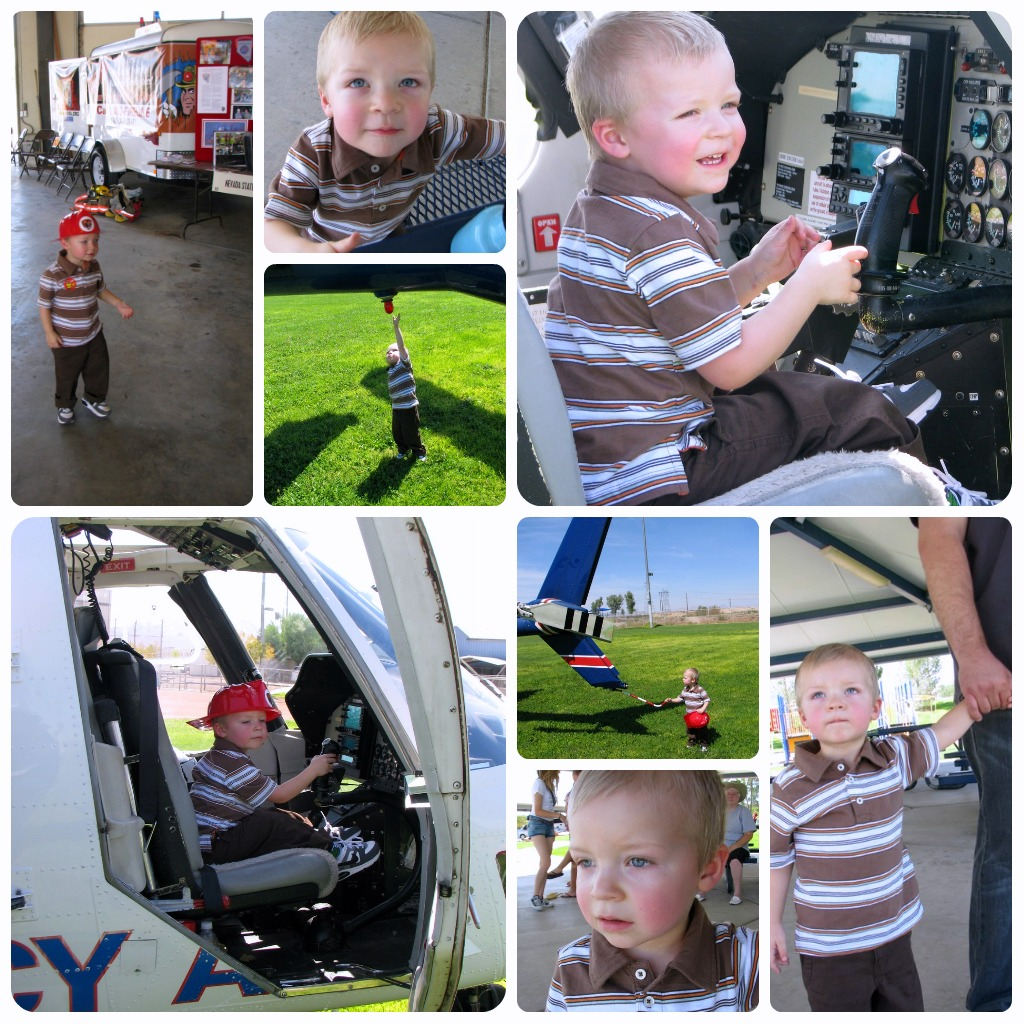"""""""Toddlers love Trucks"""" """"Boys Toys"""" """"Medical Helicopter"""" """"Clark County Fire Department"""""""