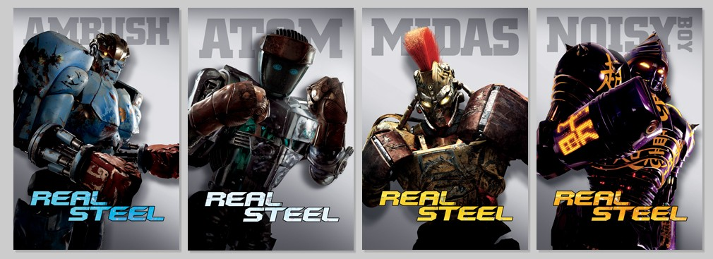 """""""DreamWorks Pictures"""" """"Real Steel"""" """"Robots"""""""