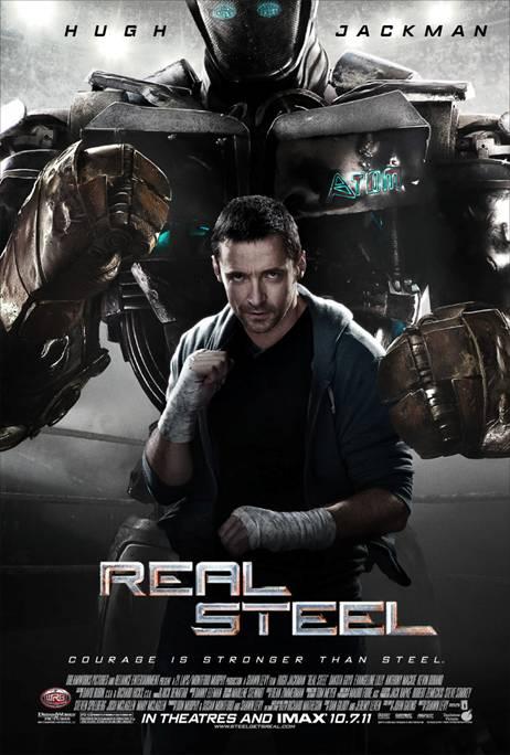 """DreamWorks Pictures"" ""Real Steel"" ""Hugh Jackman Movie"""