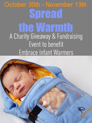 """""""Embrace Infant Warmers"""" """"Charity Giveaway and Fundraising Event"""""""