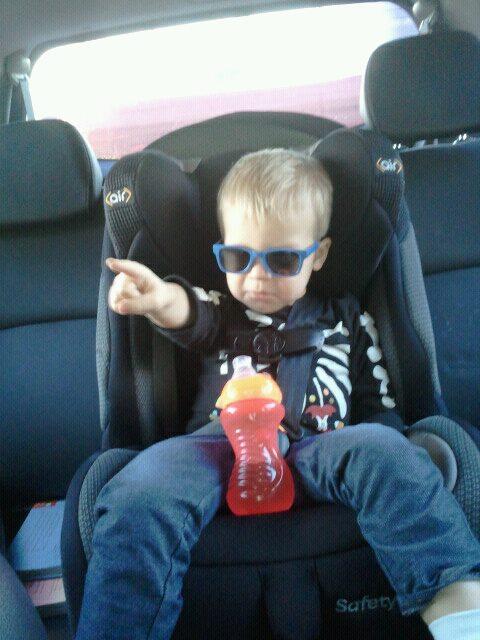 """""""Backseat Driver"""" """"Toddler Attitude"""""""