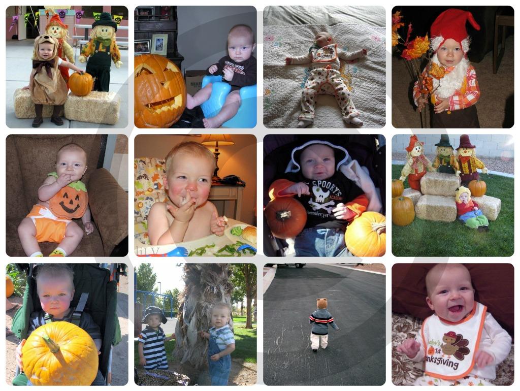 """""""Thanksgiving"""" """"Fall"""" """"Pumpkin"""" """"Baby"""""""