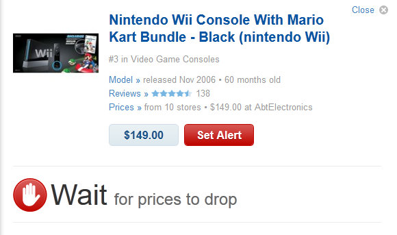 """""""Buy or Wait"""" """"Electronics Decision making site"""" """"Electronic Price Prediction"""""""