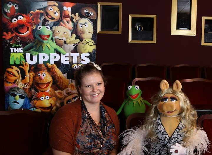 """""""Kermit"""" """"Miss Piggy"""" """"Interview with Kermit and Miss Piggy"""" """"The Muppets"""""""