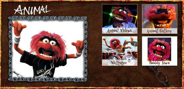 """""""Muppet Animal"""" """"Disney's The Muppets"""" """"The Muppets"""""""