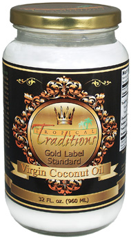 """""""Coconut Oil"""" """"Tropical Traditions"""" """"Cooking with Coconut Oil"""""""