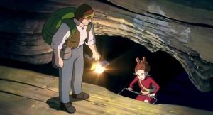 """THE SECRET WORLD OF ARRIETTY"" ""Walt Disney Pictures"" ""Disney"" ""Studio Ghibli"""