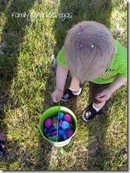 Easter Egg Hunt Backyard