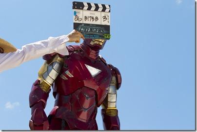 """Marvel's The Avengers"" </p> <p>IRON MAN on set</p> <p>Ph: Zade Rosenthal </p> <p>© 2011 MVLFFLLC. TM & © 2011 Marvel. All Rights Reserved."