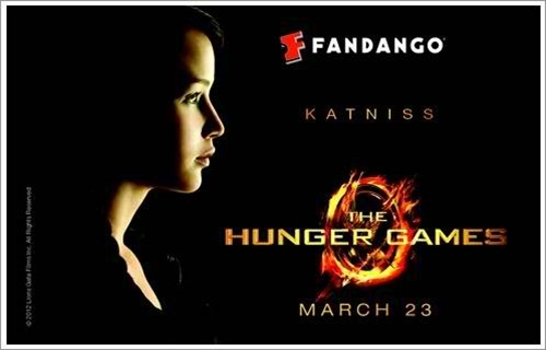 """The Hunger Games Movie"" ""The Hunger Games"" ""Hunger Games"" ""Katniss"" ""Fandango"