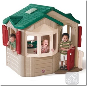 Step2 Naturally Playful® Welcome Home Playhouse