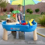 How Toddlers Cool Down in Las Vegas | Step2 Tropical Island Resort Review