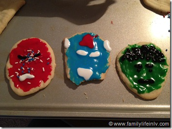 Avengers Cookie Decorating (3)