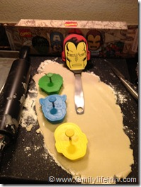 Marvels The Avengers Cookies (1)