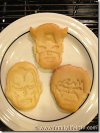 Marvels The Avengers Cookies (2)