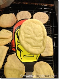 Marvels The Avengers Cookies (4)