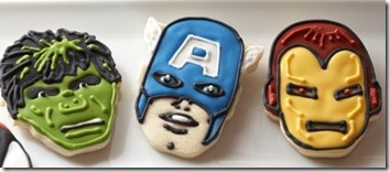 Marvel's The Avengers Cookies