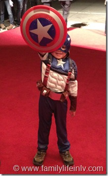 Mini Captian America