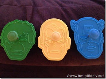 Williams Sonoma Avengers Cookie Cutters (4)