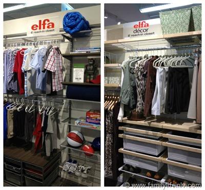 The Elfa Closet System