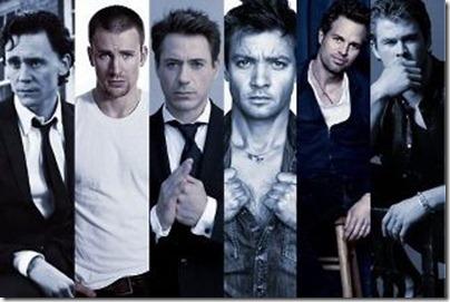 The men of Avengers!