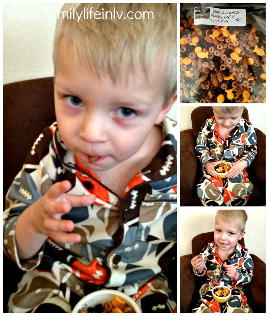 """Toddler Snacks"" ""Blue Diamond Almonds"" 'Healthy Snacks"""
