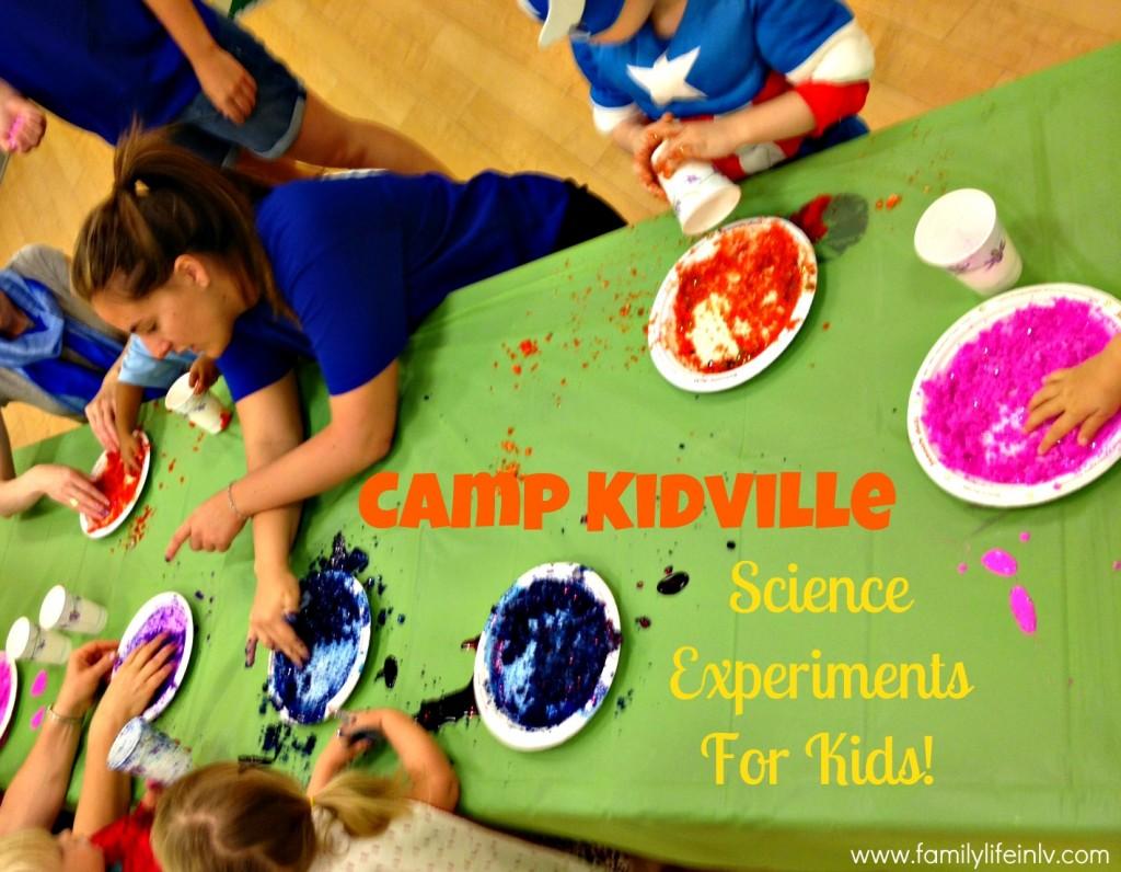 """""""Kidville"""" """"Kidville Tivoli Village"""" """"Camp Kidvile"""" """"Science for Kids"""""""