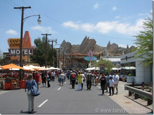 """Cars Land"" ""Disney California Adventure"" ""Disney"" ""Route 66"""