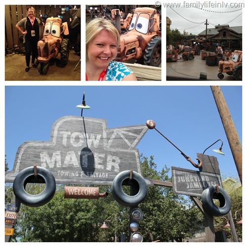 """Mater's Junkyard Jamboree"" ""Cars Land"" ""Disney California Adventure"" ""Cars Land Ride"""