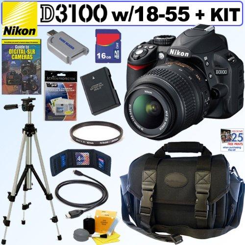 """""""Nikon"""" """"Nikon D3100 DSLR"""" """"Camera"""""""
