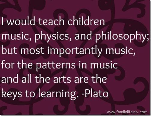 """Plato Quote"" ""Music for Children"" ""Camp Kidville"""