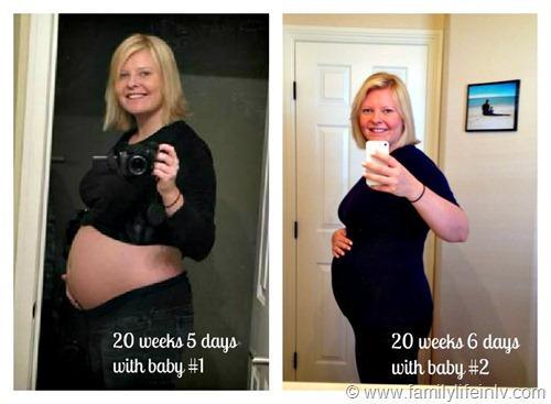 """20 week comparison"" ""Baby Bump"" ""20 weeks pregnant"" ""Pregnancy Bump"""