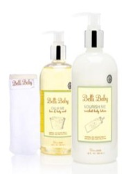 """Belli Baby Bath set"" ""Belli Skin Care"" ""Bath Wash for Baby"" ""Skin Care for Pregnancy"""