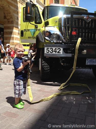 """Truckin' Tuesdays at Tivoli Village"" ""Tivoli Village Las Vegas"" ""Trucks and Toddlers"" ""Touch a Truck"""