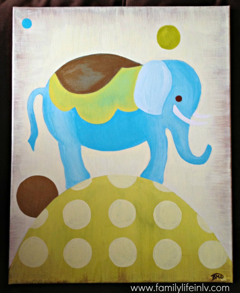 """""""Elephant Nursery Art"""" """"Nursery Art"""" """"Baby Nursery"""""""